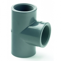 UPVC Threaded Equal Tee