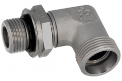 Adjustable Elb-90 Deg-Metric Parallel-C/w NBR Seal-L/S Series