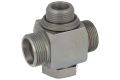 Banjo - Tee - High Pressure - Metric Parallel - c/w Soft Seal - (L) (S) Series