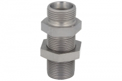 Bulkhead coupling - Straight - (L) (S) Series