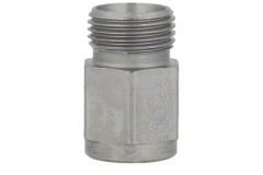 F/Male Stud Coupling - Metric to Tube - (L) (S) Series