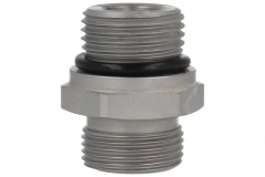 Male Stud c/w O-Ring Seal - UNF - (L) Series