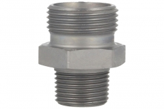 Male Stud Coupling - BSPT - (LL) (L) (S) Series