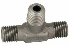 Tee - c/w Metric Taper (keg) Thread on the Branch - (LL) (L) (S) Series