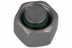 Blanking Plug - For Stud - Sealing Edge and O-Ring - (L) (S) Series