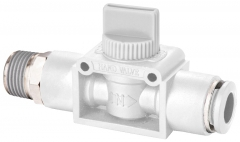 3/2 Ball Valve BSPT To Tube (Vented)