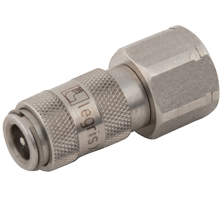 Parker Legris 20 Series Stainless Steel Couplings Metric & BSPP Female