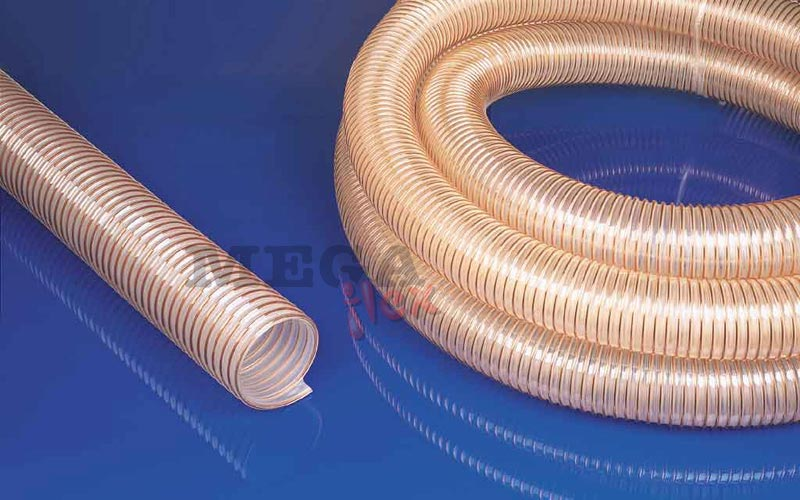 Cargoflex Polyester Polyurethane Suction and Delivery Hose with Spring Steel Wire Helix Reinforcement