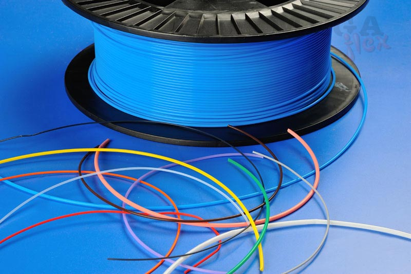 Thin Wall PTFE Sleeving for Cables in Harsh Environments.