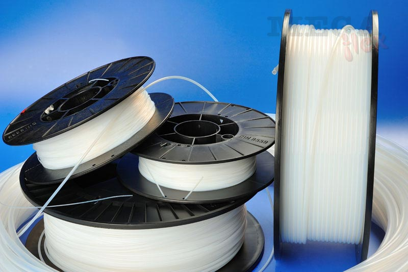 Medium Wall PTFE Sleeving for Cables in Harsh Environments.