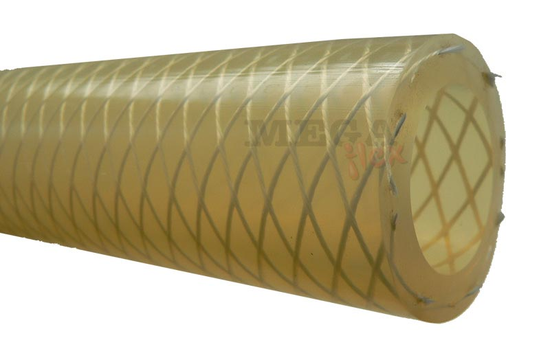 Silicone Tube & Hose - Translucent Extruded Glass Reinforced Silicone Hose