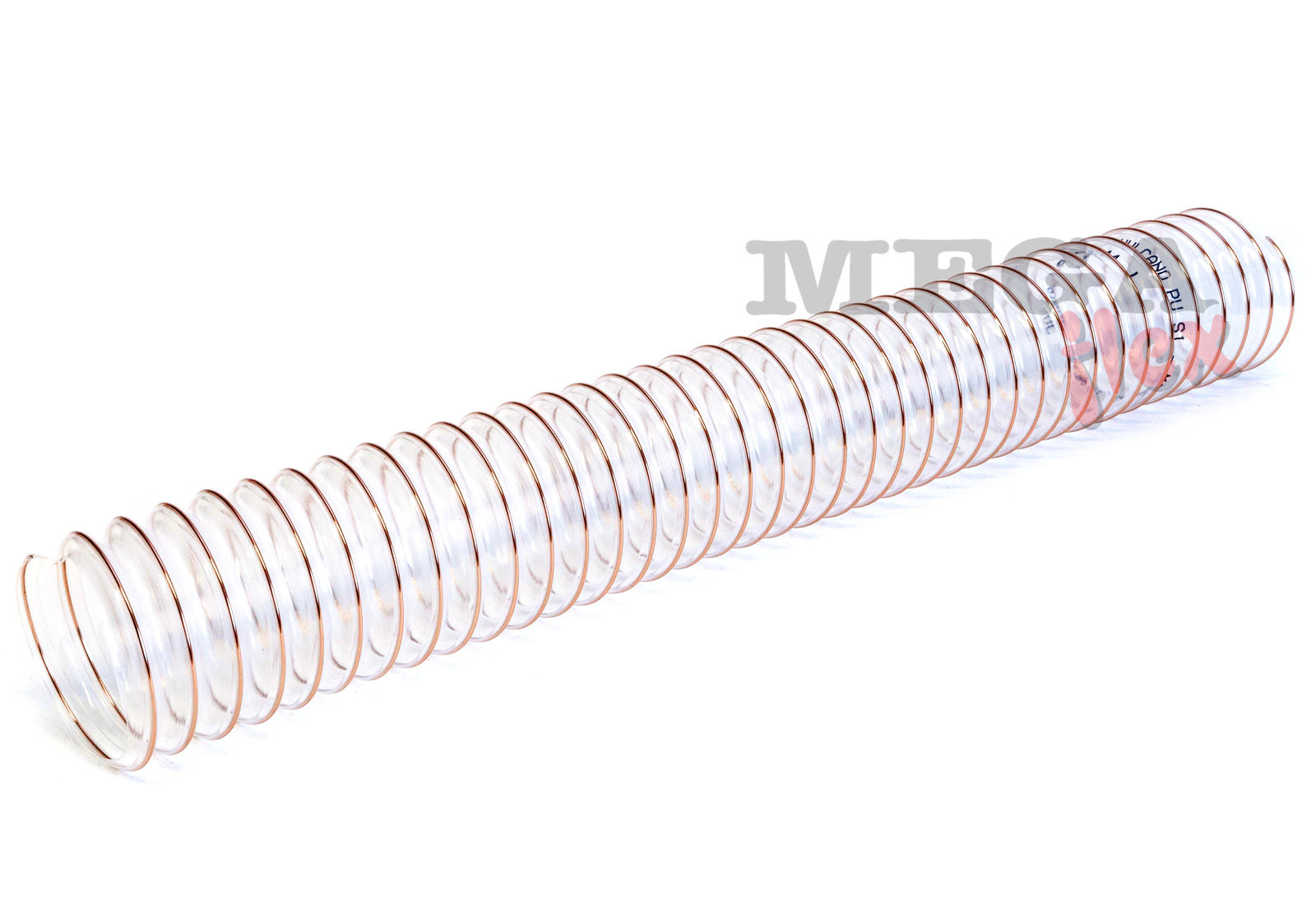 Vulcano PU S1 - Ester Polyurethane Ducting Reinforced with Steel Wire Helix (Light Duty)