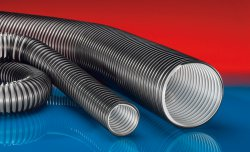 Crush resistant suction hose PROTAPE® PUR 327 MEMORY