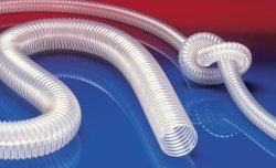 Antistatic polyurethane hose PROTAPE® PUR 330 AS