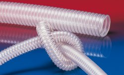 Antistatic foodstuff hose AIRDUC® PUR 350 FOOD-AS
