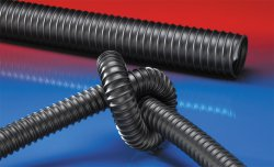 Antistatic polyurethane hose AIRDUC® PUR 350 AS BLACK