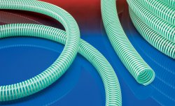 Suction hose NORPLAST® PVC 379 GREEN SUPERELASTIC