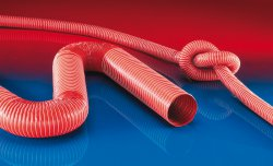 Heat resistant silicon hose SIL 391 ONE