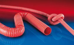 Heat resistant silicon hose SIL 391 TWO
