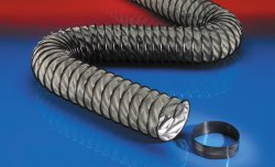 Vibration resistant exhaust hose CP ARAMID 461 PROTECT