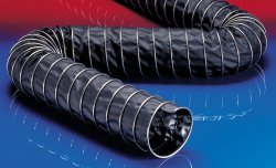 Electrically conductive suction hose CP PVC 465 EC