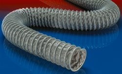 Flame retardant suction hose CP PVC 466 HT
