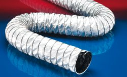 Electrically conductive hose CP PTFE/GLASS-INOX 471 EC