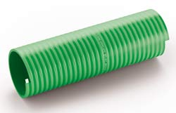 Alabama High Vacuum Green Superelastic PVC Suction & Delivery Hose for Slurry Tankers