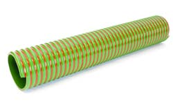 Apollo SE L - Grey with Blue Stripe General Purpose PVC Suction and Delivery Hose Reinforced with Rigid PVC Helix