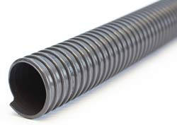 Eolo L PVC - Dark Grey PVC Ducting with Rigid PVC Helix (Light Duty) for Suction of Air, Fumes, Gas, Dust