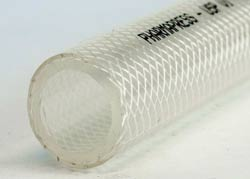 PharmaPress - Clear TPE Rubber Delivery Hose with Polyester Yarn Reinforcement