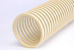 Nettuno FF - Clear Plasticized Vinyl Compound Walled S&D Hose with Rigid PVC Helix