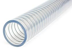 Plutone A SE - Super Flexible PVC S&D Hose Reinforced with Steel Wire Helix