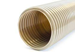 Vulcano GR PVC - Grey PVC Ventilation Ducting Reinforced with Zinc-coated Steel Helix