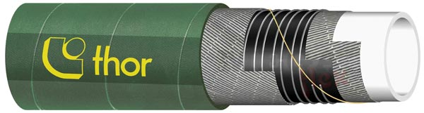 Green Food & Chemical Suction Hose