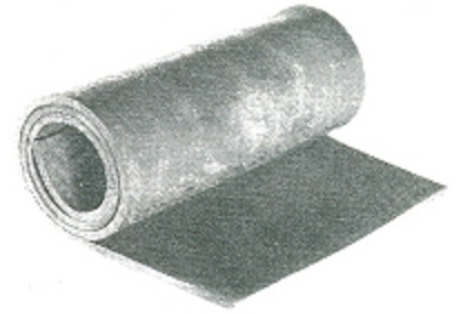 Canvas insertion rubber sheet