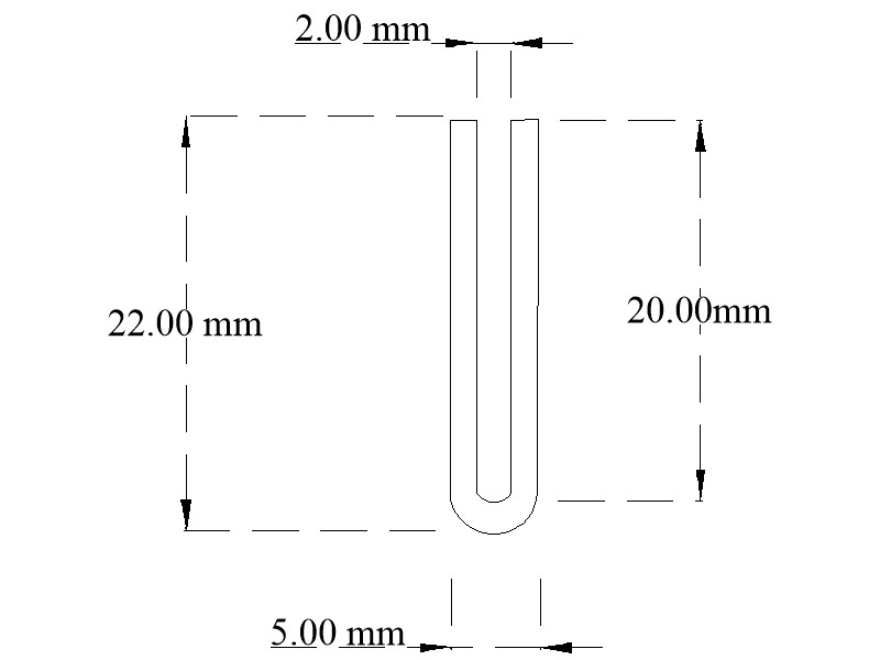 EPDM U-channel section