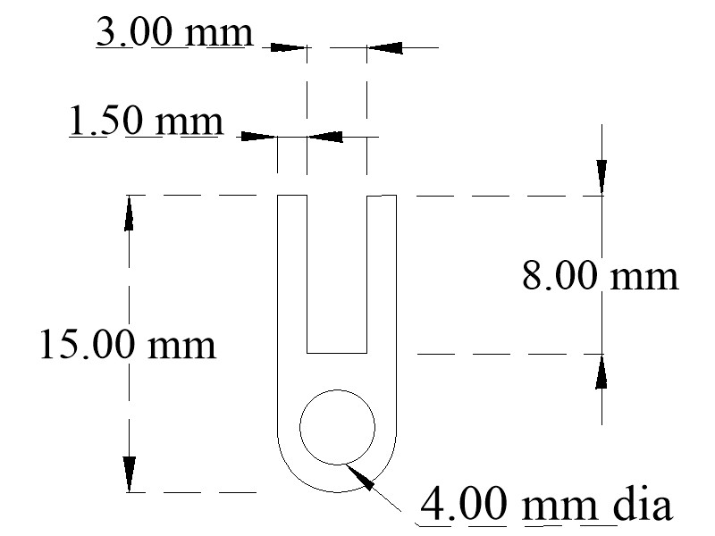 Neoprene door seal section with channel base