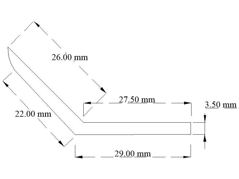 EPDM angle section
